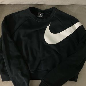 Nike cropped sweater small